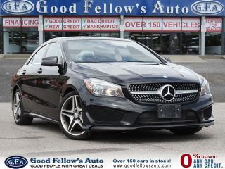 Used 2015 Mercedes-Benz CLA250 4 MATIC, LEATHER SEATS, PANORAMIC ROOF, NAVIGATION for sale in Toronto, ON