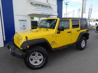 Used 2008 Jeep Wrangler Unlimited 4x4, 2 Inch LIFT, 33