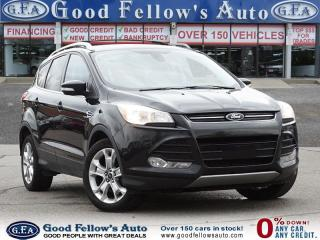 Used 2015 Ford Escape TITANIUM MODEL, POWER LIFT GATE, 2.0 L ECOBOOST for sale in Toronto, ON