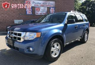 Used 2010 Ford Escape XLT/ONE OWNER/NO ACCIDENT/CERTIFIED/WARRANTY INCL for sale in Cambridge, ON