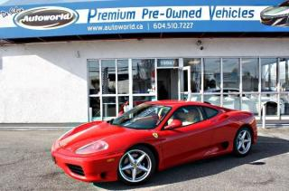 Used 2000 Ferrari 360 Modena *Modena, 6-Speed Manual, LOW KM* for sale in Langley, BC