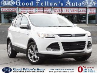 Used 2014 Ford Escape TITANIUM MODEL, 2.0 LITERECOBOOST, LEATHER SEATS for sale in Toronto, ON