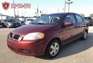 Used 2009 Pontiac G3 WAVE/ONE OWNER/NO ACCIDENT/CERTIFIED/WARRANTY INCL for sale in Cambridge, ON