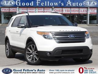 Used 2015 Ford Explorer XLT MODEL, 7 PASSENGER, 4WD, LEATHER SEATS,PANROOF for sale in Toronto, ON
