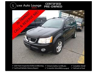 Used 2009 Pontiac Torrent GXP AWD, LEATHER, SUNROOF, BLUETOOTH! for sale in Orleans, ON
