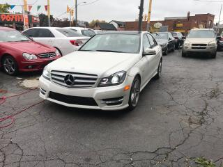 Used 2012 Mercedes-Benz C-Class C 350 4matic amg nav cam pansunroof certified for sale in Toronto, ON