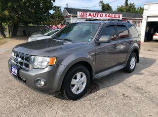 Used 2010 Ford Escape XLT/Certified/Automatic/AUX/USB/Fog Lights for sale in Scarborough, ON
