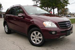 Used 2006 Mercedes-Benz ML 350 3.5L w/Premium Pkg for sale in Mississauga, ON