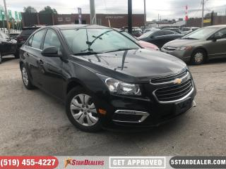 Used 2015 Chevrolet Cruze LT 1LT | CAM for sale in London, ON