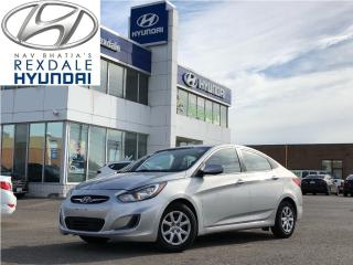 Used 2014 Hyundai Accent GL, HEATED FRONT SEATS, BLUE TOOTH for sale in Toronto, ON