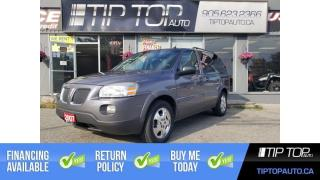 Used 2007 Pontiac Montana Sv6 w/1SA ** 4 Brand New Tires, Remote Start, Low Km * for sale in Bowmanville, ON