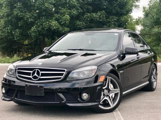 Used 2010 Mercedes-Benz C-Class C63 AMG|NAVI|ACCIDENT FREE|FINANCING AVAILABLE for sale in Mississauga, ON