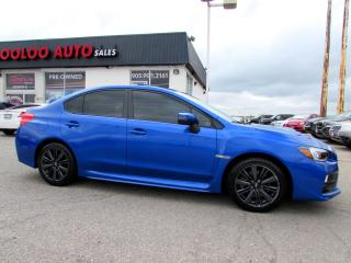 Used 2017 Subaru Impreza WRX WRX SPORT 6 SPEED MANAUL CAMERA CERTIFIED WARRANTY for sale in Milton, ON