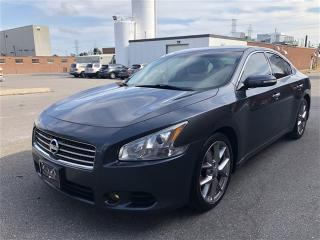 Used 2010 Nissan Maxima 3.5 SV, NAVI, CAM, Push START, Paddle Shifters for sale in Toronto, ON