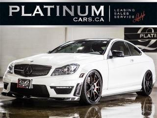 Used 2012 Mercedes-Benz C63 AMG , NAV,CAMERA, Carbon ACCENTS, BC Wheels for sale in Toronto, ON