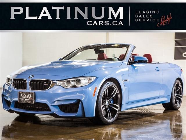 Used 2016 Bmw M4 Convertible Hardtop Nav Harmankardon Audio For