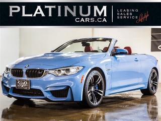 Used 2016 BMW M4 Convertible HARDTOP, NAV, HARMAN/KARDON Audio for sale in Toronto, ON