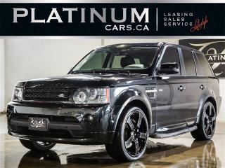 Used 2010 Land Rover Range Rover Sport SUPERCHARGED, NAVI, CAM, SUNROOF, Heated Seats for sale in Toronto, ON