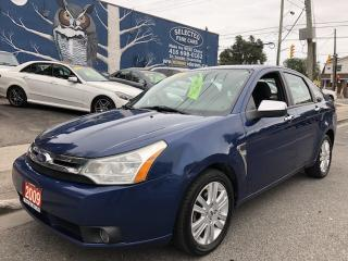 Used 2009 Ford Focus SEL for sale in Toronto, ON