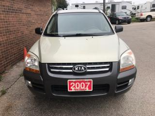 Used 2007 Kia Sportage SX for sale in Kitchener, ON