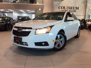 Used 2014 Chevrolet Cruze 2LT-AUTO-NAVIGATION-CAMERA-LEATHER-ROOF for sale in Toronto, ON