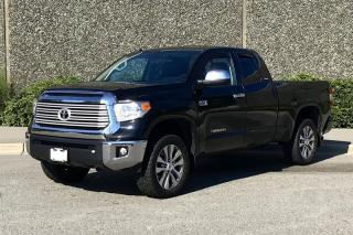 Used 2016 Toyota Tundra 4x4 Dbl Cab Ltd 5.7 6A for sale in Vancouver, BC