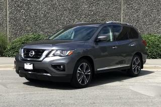 New 2018 Nissan Pathfinder Platinum V6 4x4 at for sale in Vancouver, BC