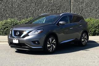 New 2018 Nissan Murano Platinum AWD CVT for sale in Vancouver, BC