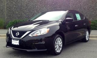 New 2018 Nissan Sentra 1.8 SV CVT for sale in Vancouver, BC