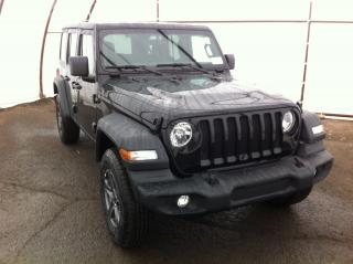 New 2018 Jeep Wrangler UNLIMITED SPORT for sale in Ottawa, ON