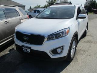 Used 2018 Kia Sorento FUEL EFFICIENT GDI EDITION 5 PASSENGER 2.4L - DOHC.. AWD.. HEATED SEATS.. BACK-UP CAMERA.. BLUETOOTH SYSTEM.. for sale in Bradford, ON