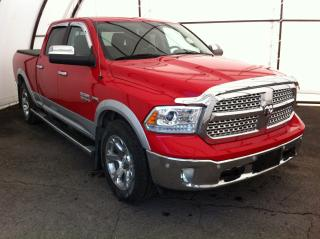 Used 2016 RAM 1500 Laramie LEATHER, FRONT AND REAR PARK SENSE, TRAILER TOW GRP, TWO TONE PAINT for sale in Ottawa, ON