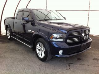 Used 2016 RAM 1500 Sport LEATHER VENTED SEATING, REMOTE STARTER, ALPINE AUDIO, SUNROOF, NAVIGATION, REAR PARK SENSORS for sale in Ottawa, ON
