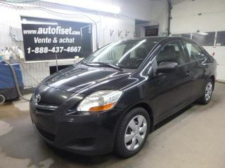 Used 2008 Toyota Yaris BASE for sale in St-raymond, QC