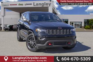 Used 2018 Jeep Grand Cherokee Trailhawk <B>*NO ACCIDENTS *SINGLE OWNER<B> for sale in Surrey, BC