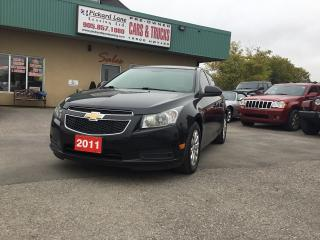 Used 2011 Chevrolet Cruze LT Turbo for sale in Bolton, ON