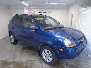 Used 2009 Hyundai Tucson GL for sale in Ancienne Lorette, QC
