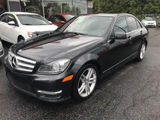 Used 2013 Mercedes-Benz C-Class C300 AWD 1-2-3-4 for sale in St-Eustache, QC