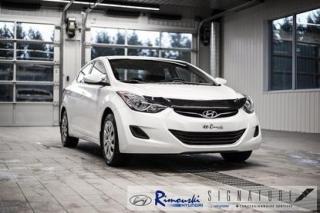 Used 2013 Hyundai Elantra GL CHEZ RIMOUSKI for sale in Rimouski, QC