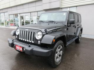 Used 2018 Jeep Wrangler Sahara for sale in Mississauga, ON