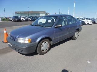 Used 1999 Toyota Tercel for sale in Mirabel, QC