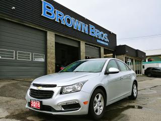 Used 2016 Chevrolet Cruze LT, LOCAL, LTHR, MOONROOF for sale in Surrey, BC