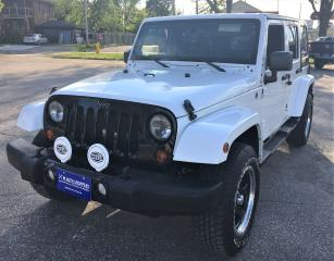 Used 2013 Jeep Wrangler UNL SAHARA for sale in Windsor, ON