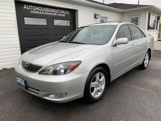 Used 2004 Toyota Camry SE for sale in Kingston, ON