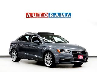 Used 2015 Audi A3 KOMFORT LEATHER PAN SUNROOF 4WD for sale in Toronto, ON