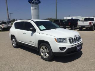 Used 2013 Jeep Compass North | 4X4 | Local Trade | AM/FM/CD for sale in Harriston, ON