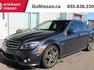 Used 2011 Mercedes-Benz C-Class C63 AMG Package - V8, Heated seats, 7 Speed Automatic Transmission for sale in Edmonton, AB