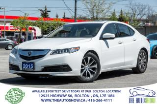 Used 2015 Acura TLX Tech Navi GPS Certified Warranty Accident free for sale in Bolton, ON