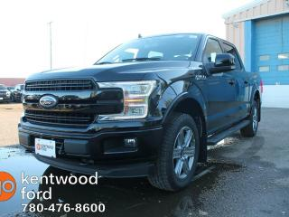 New 2018 Ford F-150 Lariat SPORT, 502a Pkg, 360 Camera, Twin Panel Moonroof, Sync Connect, Heated/Cooled Leather, Heated Steering for sale in Edmonton, AB