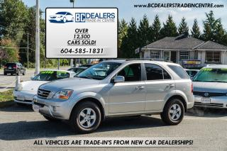 Used 2008 Kia Sorento LX 4x4, 79,000 km's, Local, No Accidents, Like New for sale in Surrey, BC